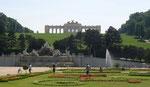 Parc de Schoenbrunn avec la Gloriette