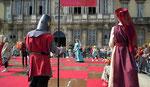 Jeux d'échec médiéval palce de la mairie