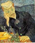 """146M$ - """"Portrait du Dr Gachet"""" Vincent Van Gogh (1890)"""