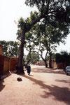 Une rue à Bamako