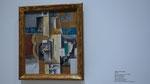 Picasso, 1913 - Violon et verres sur une table (Violon et guitare)