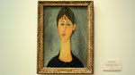"Modigliani : ""Portait de Mme Zborowska"" de 1918"