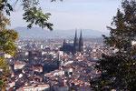 Clermont-Ferrand vu de Montjuzet