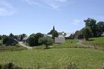 Le village de Montgreleix à 1235m d'altitude