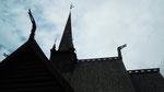 à Mailhaugen, Norvège (église en bois debout)