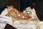"""Olympia"" par Edouard Manet (1832-1883) et Svetlana Petrova"