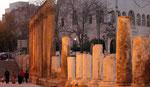 Le forum de la ville basse d'Amman