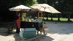 Marchand de glace à Versailles