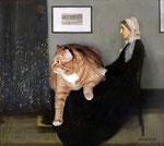 """Arrangement en gris et noir"" par J-Abbott McNeill Whistler (1834-1903) et Svetlana Petrova"