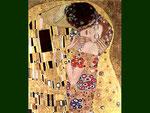 Le Baiser, détail, Klimt