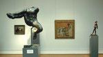 Rodin ose, en arrière Degas et sa Danseuse espagnole de 1890