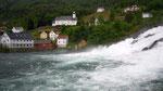 Cascade d'Hellesylt, départ du ferry
