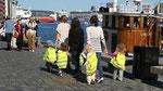 sur le quai à Bergen