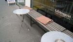 Couverture pour les clients d'un café à Oslo
