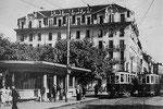 Le Grand Hôtel à côté de la Brasserie de Strasbourg dont ma grand-mère paternelle était la concierge