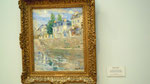 "Berthe Morisot : ""At the bank of river Seine"" de 1883"