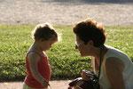 avec Mamy Evelyne au Parc de Cébazat