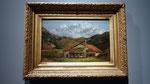 Courbet, 1874 - La Chalet dans la montagne