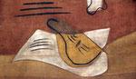 """Pablo Picasso (1881-1973) : Rideau de scène pour """"Mercure"""" de Satie"""