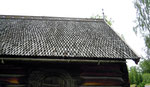 Norvège, toiture bois