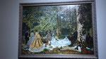 Monet, 1866 - Le déjeuner sur l'herbe
