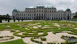Palais du Belvédère (photo Internet, pas le temps d'aller au fond!)