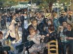 """138M$ - """"Le Moulin de la Galette"""" Pierre-Auguste Renoir (1876)"""