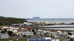 L'île de Grimsey, située sur le Cercle polaire, vue de Saudarkrokur