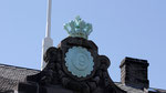 La couronne royale de Danemark reste sur le parlement républicain