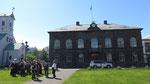 L'Alþing construit en lave est le parlement islandais