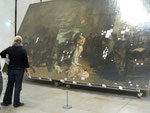 "Restauration de ""L'atelier du peintre"" de Courbet"
