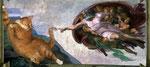 """La création d'Adam"" par Michel-Ange (1475-1564) et Svetlana Petrova"