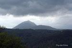Le Puy-de-Dôme vu des Côtes de Clermont