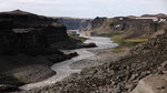 Canyon de la Jökulsá en aval de la Detifoss