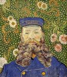"""108M$ - """"Portrait de Joseph Roulin"""" Vincent_van_Gogh (1889)"""