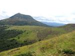 Sur les bords du Puy de Pariou