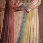 """Fra Angelico, détail de """" La présentation au temple """", Cellule 10, San Marco"""