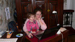 On joue sur l'ordinateur de mamy Evelyne