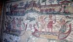 Les romains, ici à la Villa Casale
