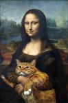 """""""Mona Lisa la Joconde"""" par Léonard de Vinci (1452-1519) et Svetlana Petrova"""