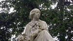 La Chatre - Statue de George Sand