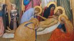 Lamentation sur le Christ mort par Giottino (1329-1469) détail