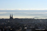 Clermont-Ferrand vu du Bouvelard Thermal