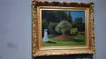 Monet, 1867 - Dame dans le jardin