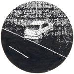 Test 1999 Bleistift, Tusche 26 cm Ø