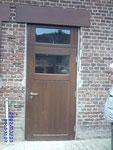 Holz-Haustür aus der Produktion der Firma Damwerth Münster
