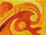356 Liebevolle Gedanken 2, Öl auf Leinwand, 2012, 24x18, 60 Euro