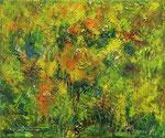 349 PB Wilder Sommer, Öl auf Leinwand, 2012, 30 x 25 cm, verkauft