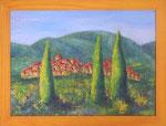 353 PB Italienischer Sommer, Acryl auf Hartfaser, 2012, 40 x 30 cm, 100 Euro zzgl. Versand