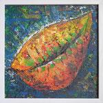 335 PB Frucht, Acryl auf Hartfaser, 2012, 30 x 30 cm, verkauft